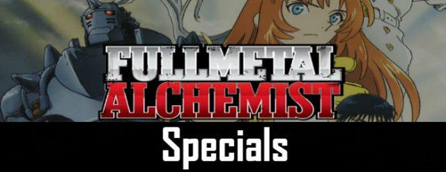 Fullmetal Alchemist Brotherhood Specials English Dubbed